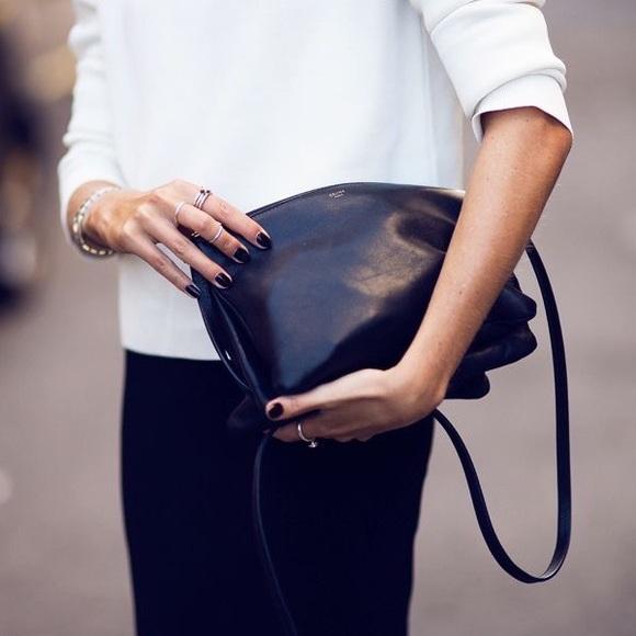9f13770c4f30 Celine Handbags - Celine large trio in black